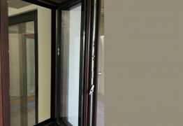 wood aluminium windows 78mm