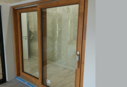 Lift sliding door 78mm wood