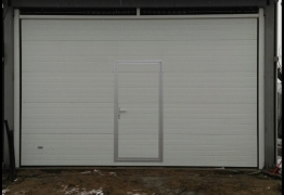 sectional door pass door